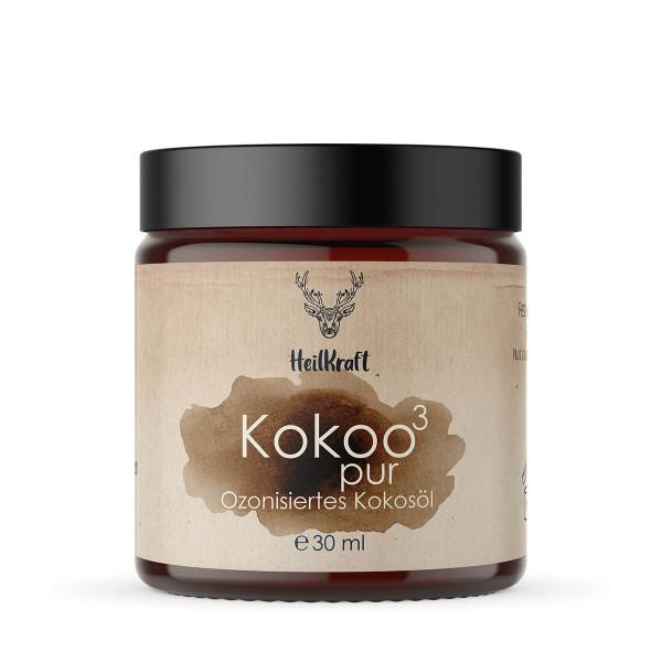 Kokoo³ pur - Ozonisiertes Kokosöl