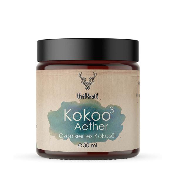 Kokoo³ Aether- Ozonisiertes Kokosöl + Ätherische Öle