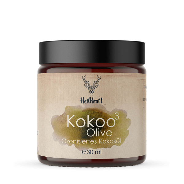 Kokoo³ Olive - Ozonisiertes Kokosöl + Olivenöl