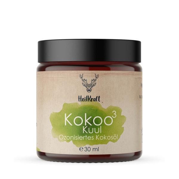Kokoo³ Kuul - Ozonisiertes Kokosöl + Zitrone-Minze